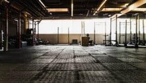 Metal building workspace