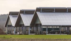 Triple metal barn