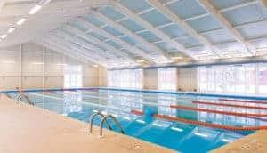 Indoor pool metal building