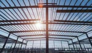 metal roofing frame