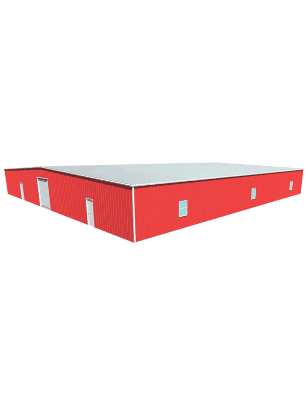 Metal building dimensions 100x100
