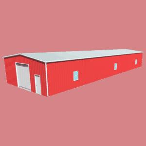 Metal building dimensions 100x30