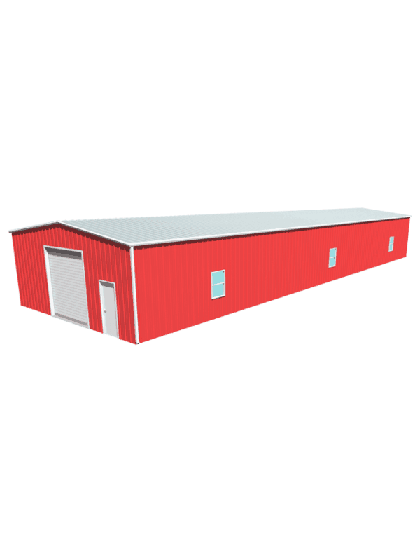 Metal building dimensions 100x30