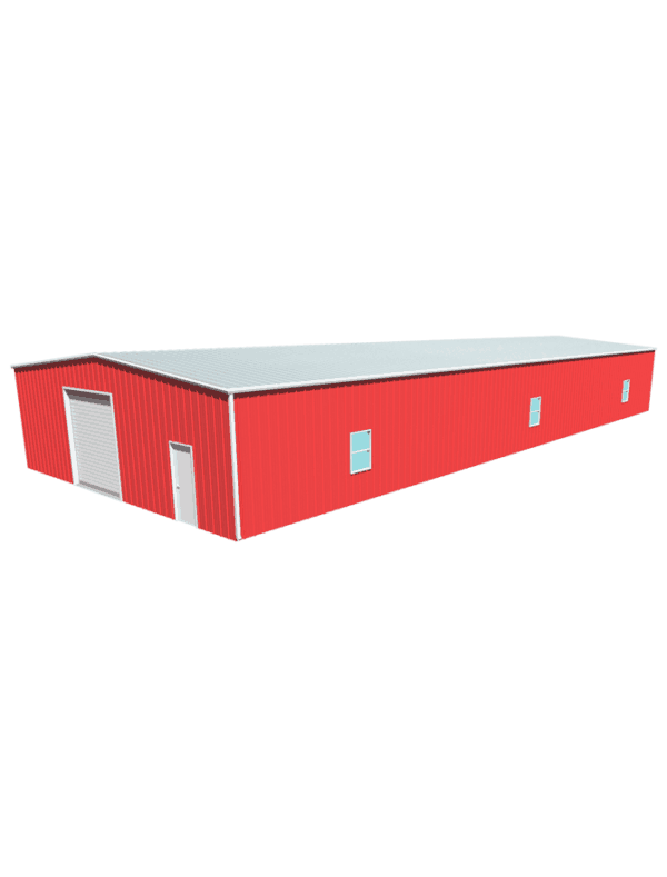 Metal building dimensions 100x40