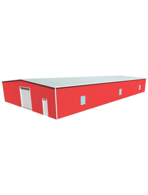 Metal building dimensions 100x50