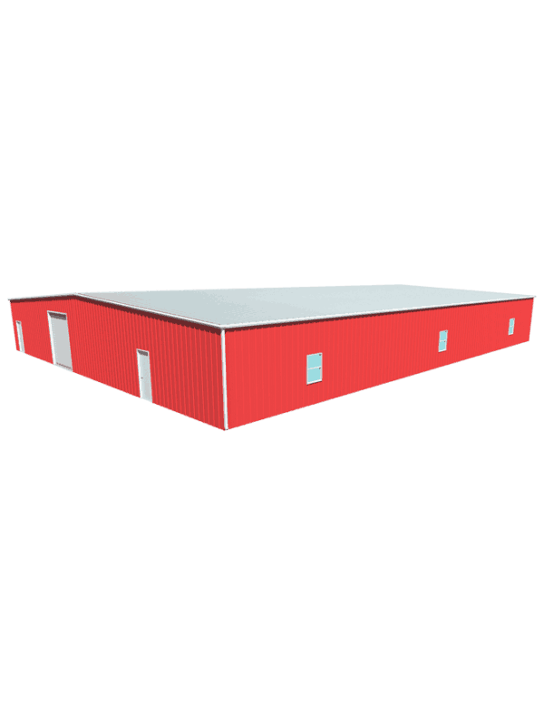 Metal building dimensions 100x80