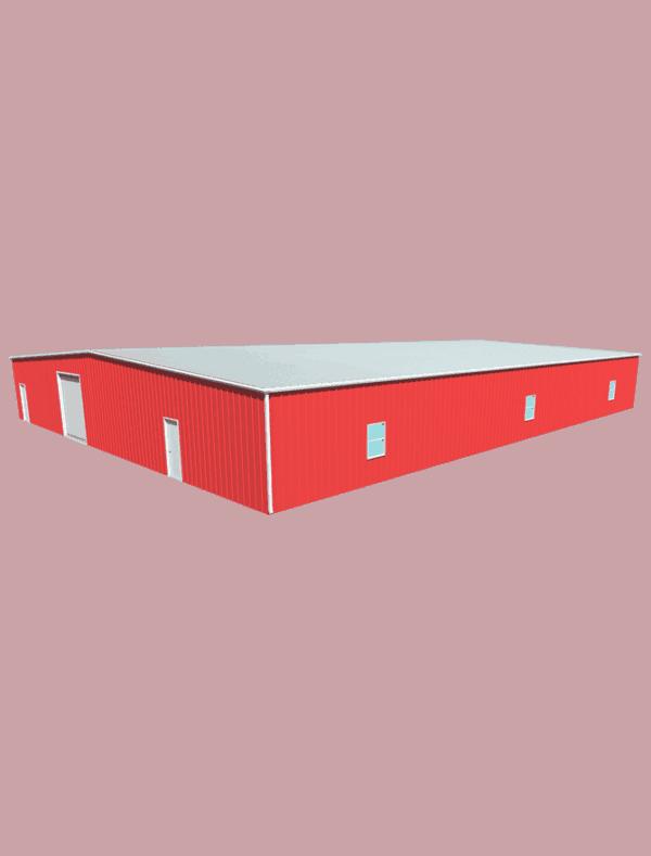 Metal building dimensions 100x80