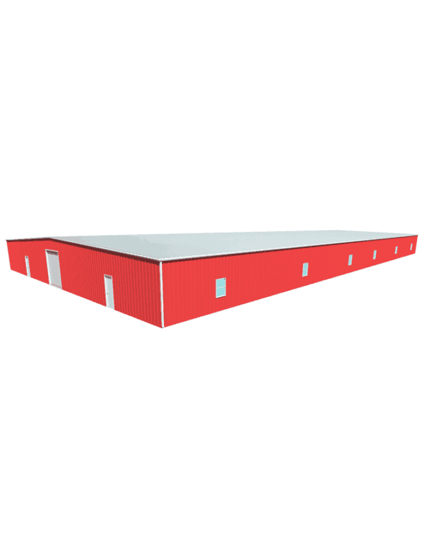 Metal building dimensions 200x100