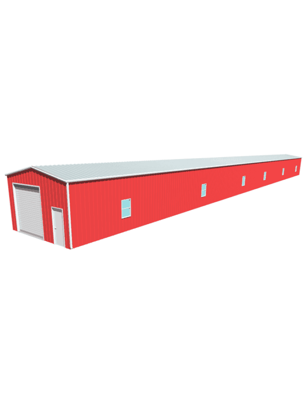 Metal building dimensions 200x20