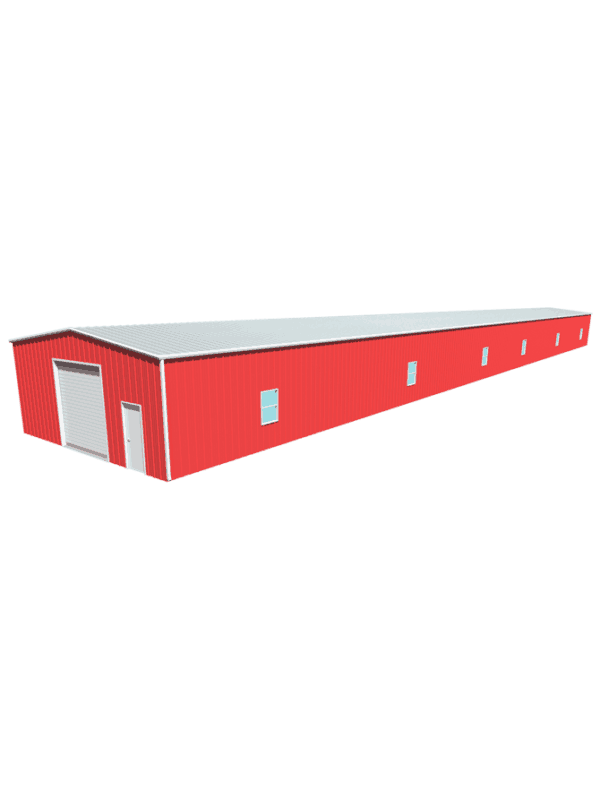 Metal building dimensions 200x30