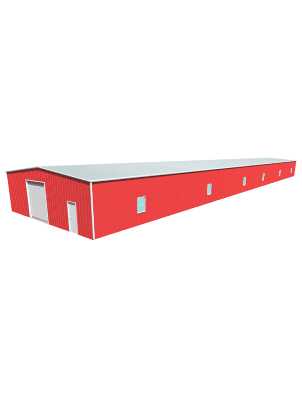 Metal building dimensions 200x40