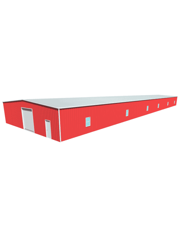 Metal building dimensions 200x50