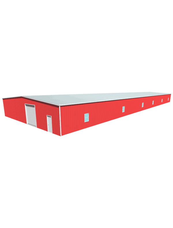 Metal building dimensions 200x60
