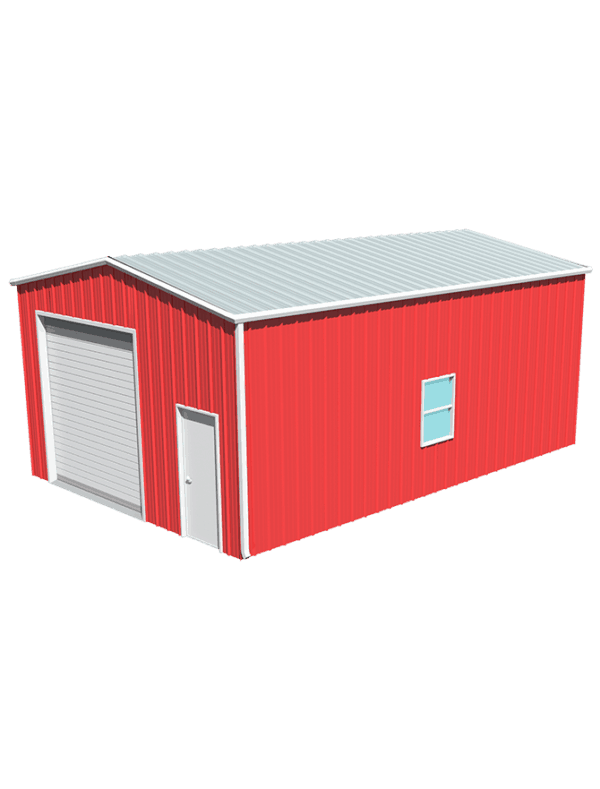 Metal building dimensions 30x20