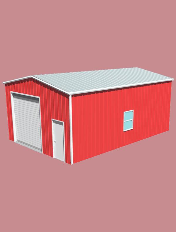 Metal building dimensions 30x20