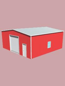 Metal building dimensions 30x30