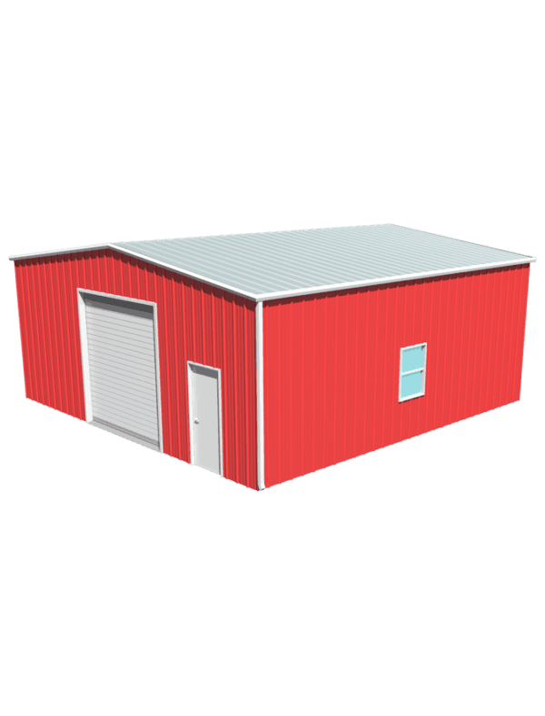 Metal building dimensions 30x30