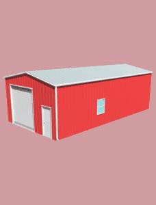 Metal building dimensions 40x20