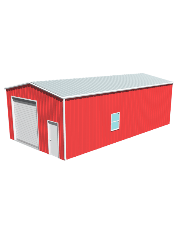 Metal building dimensions 40x20