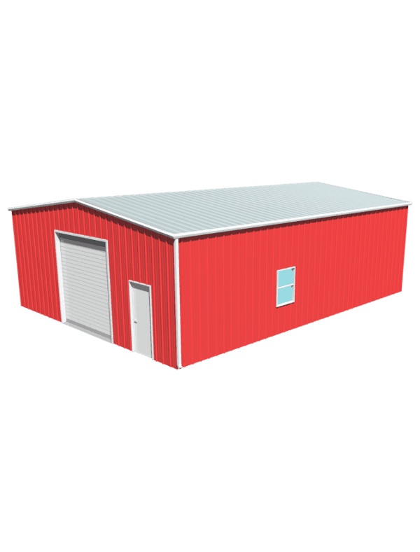 Metal building dimensions 40x30