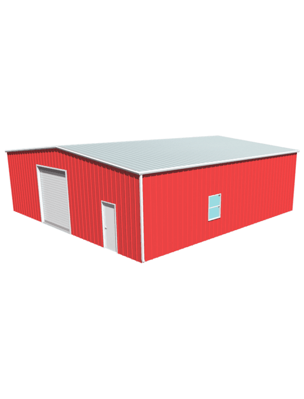 Metal building dimensions 40x40