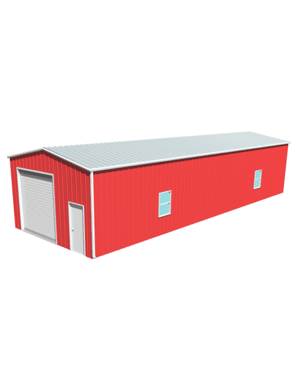 Metal building dimensions 60x20