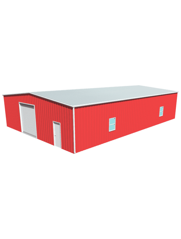 Metal building dimensions 60x40