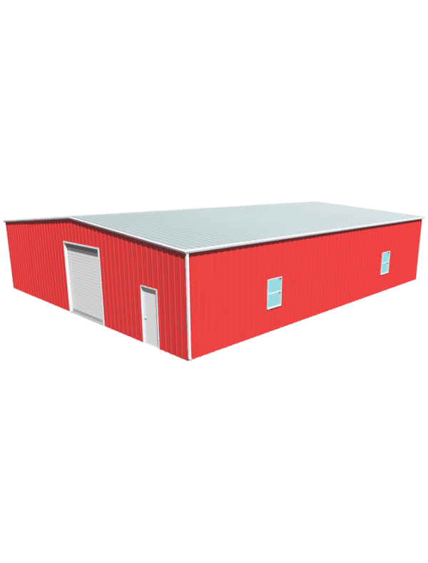 Metal building dimensions 60x50
