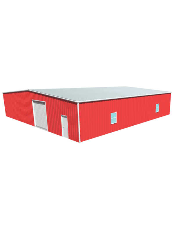 Metal building dimensions 60x60