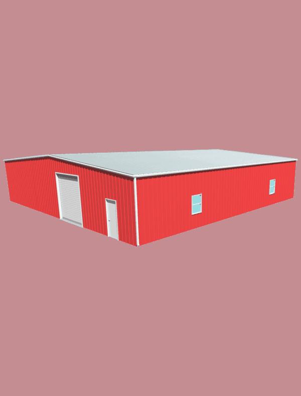 Metal building dimensions 60x60
