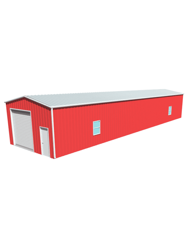 Metal building dimensions 80x20
