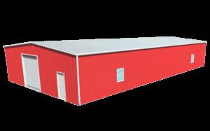 Metal building dimensions 80x40