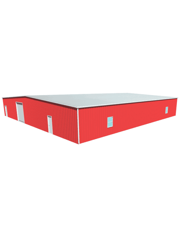 Metal building dimensions 80x80