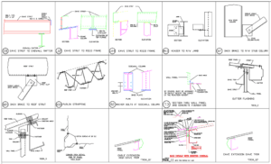 Metal building component assemblies