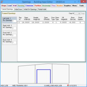Building input editor
